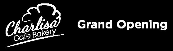 Charlisa Grand opening