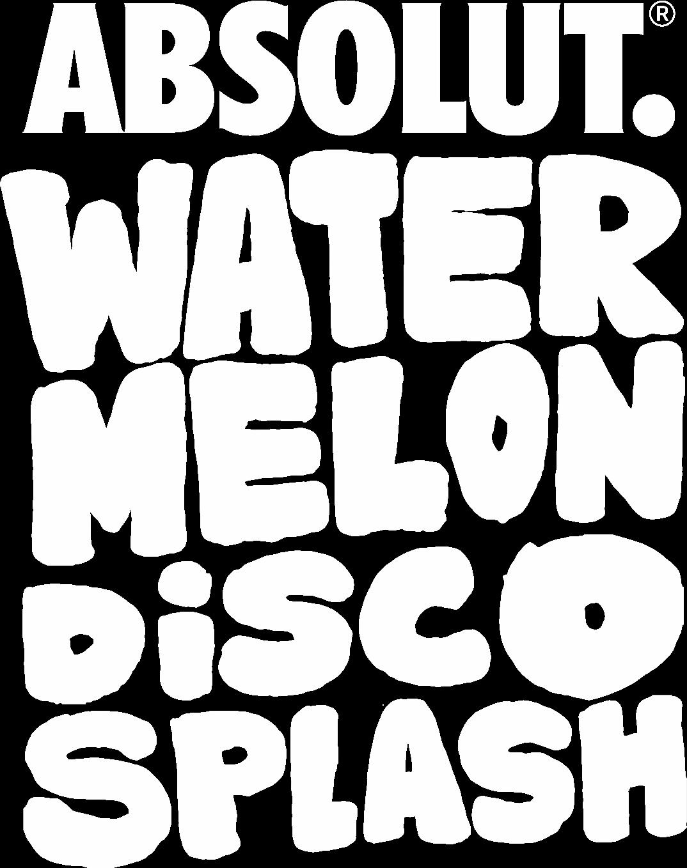 Watermelon disco splash